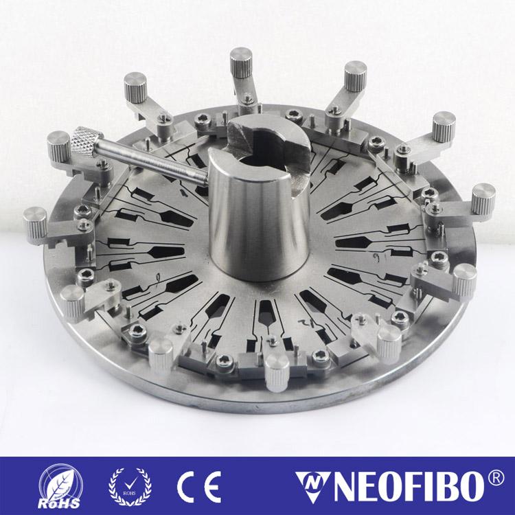 德迈 MPO 插芯光纤研磨夹具 MPO-24-F25