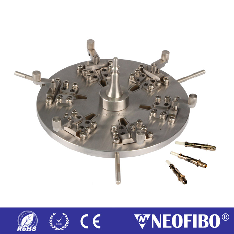 24芯SMA905插芯研磨盘SMA905-24-SK