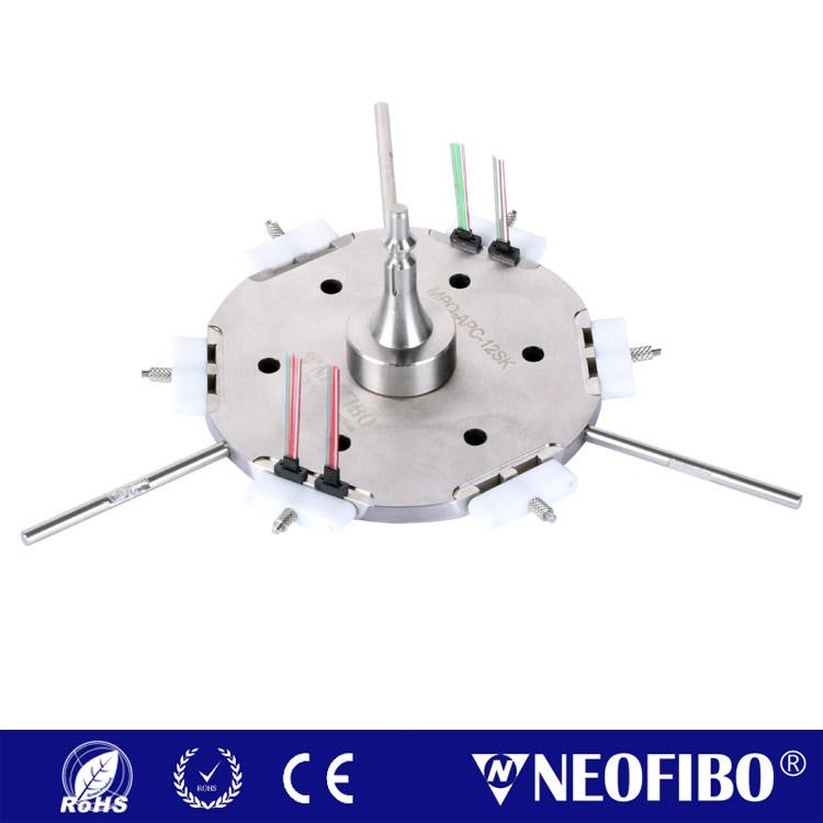 12芯MPO/APC插芯研磨盘MPO-APC-12SK