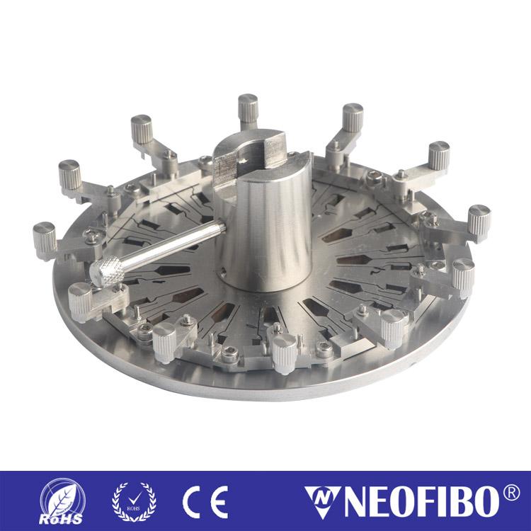 24芯MPO/UPC插芯研磨盘MPO-UPC-24DM