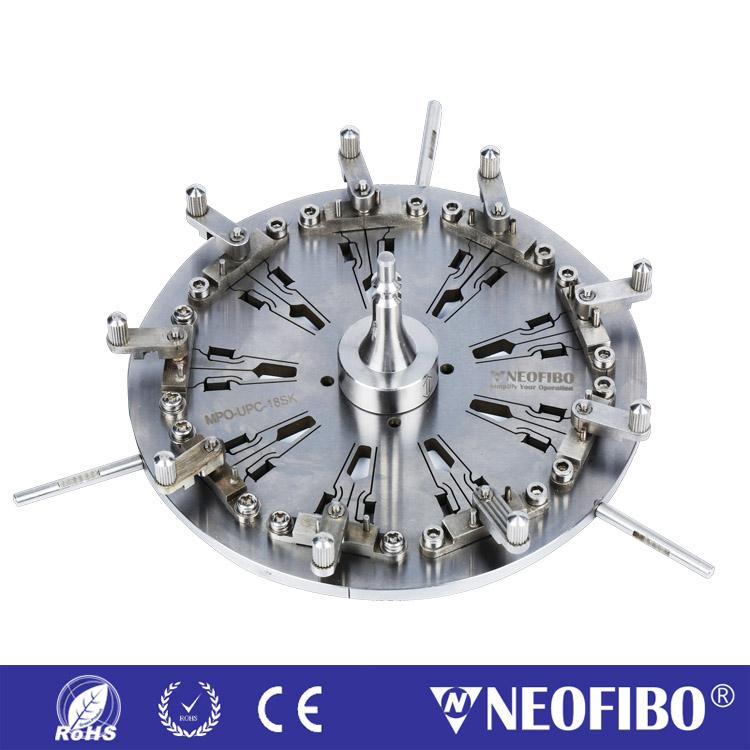 24芯MPO/APC插芯研磨盘MPO-APC-24SK