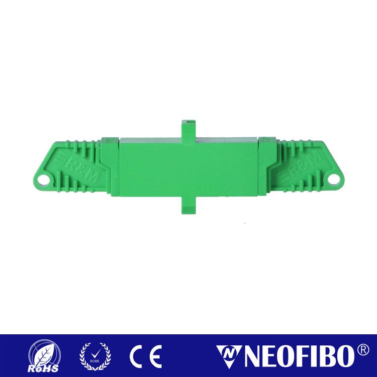 E2000/APC Single Mode Simplex R&M Adapter E2000A-E2000A-SM-SX-AD(R&M)