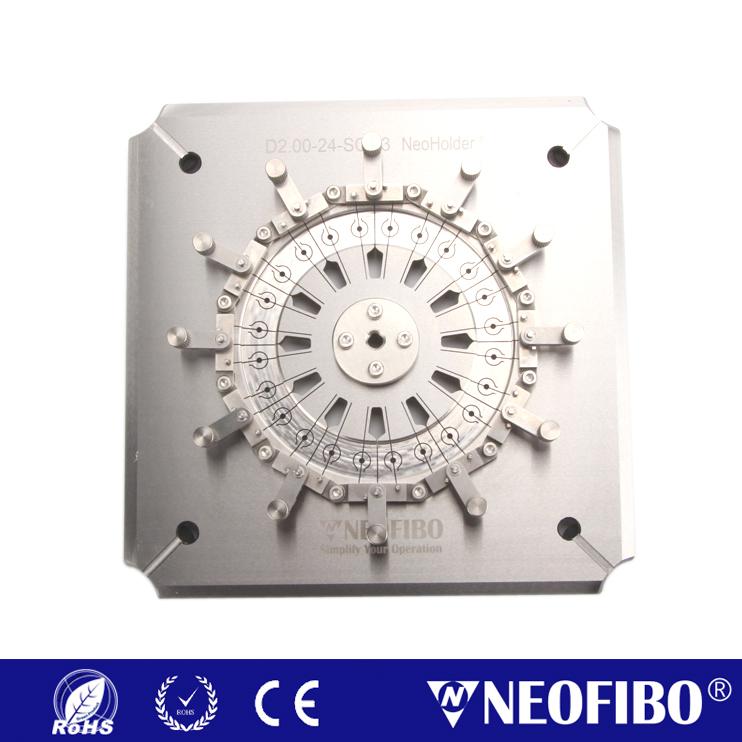 24芯D2.00mm光纤研磨夹具D2.00-24-SQH3