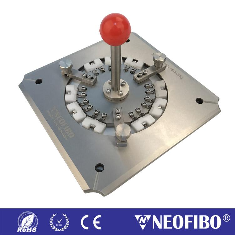 E2000 APC 四角加压光纤研磨夹具 E2000-APC-18(H&S)